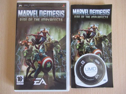 Marvel Nemesis Rise Of The Imperfects (PSP)